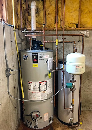 My Dear Watson Plumbing Gas Water Heater New Install